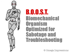 Biomechanical Organism Optimized for Sabotage and Troubleshooting